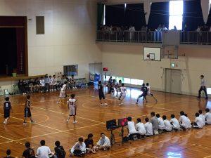 第72回 大阪高校総体バスケットボール大会の一次予選