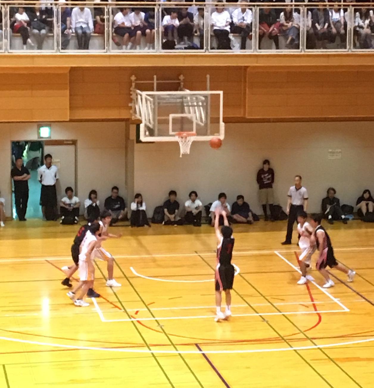 男子バスケッボール部 大阪市春季総体決勝