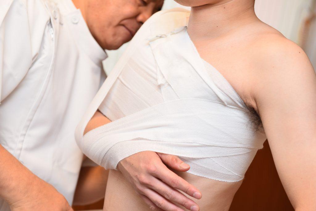 症状事例:肩関節脱臼